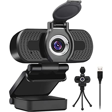 LarmTek 1080p Full Hd Webcam,Computer Laptop Pc Mac Desktop Camera for Conference and Video Call,Pro Stream Webcam with Plug and Play Video Calling,Built-in Mic