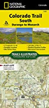 Colorado Trail South, Durango to Monarch (National Geographic Topographic Map Guide)