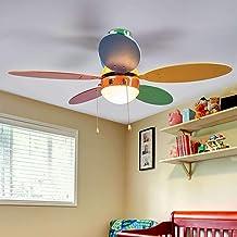Amazon.es: Ventilador de techo con luz Inspire LOMBARDE