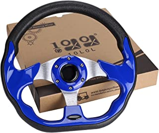 10L0L Golf Cart Steering Wheel or Adapter, Generic of Most Golf cart EZGO Club Car Yamaha