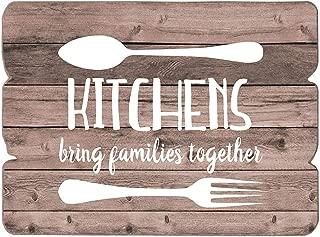 MODE HOME Farmhouse Kitchen Wall Art,Wood Wall Art,Kitchen Sign,Wood Signs,Kitchen Decor,Kitchen Art