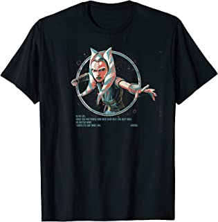 Star Wars Just Who I Am Ahsoka Portrait Camiseta