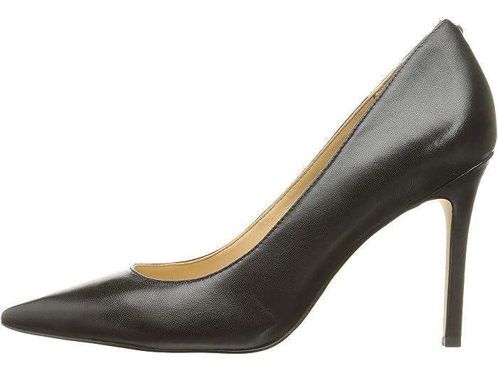 Sam Edelman Hazel Black Dress Calf Leher Heels