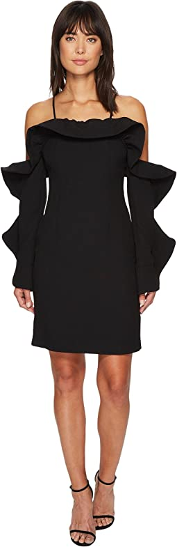Messages Long Sleeve Mini Dress