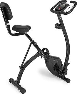 YITAHOME Folding Upright Exercise Bike, Magnetic Slim...