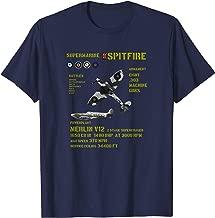 RAF SPITFIRE WW2 FIGHTER PLANE TSHIRT UNION JACK T-Shirt