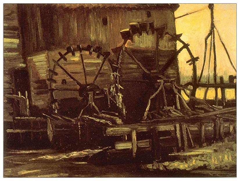 ArtPlaza TW90679 Van Gogh Vincent - Gennup Decorative Panel 51x39.5 Inch Multicolored