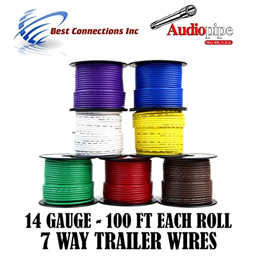 Trailer Wire Kit: Amazon.com on trailer plugs, trailer fuses, trailer generator, trailer hitch harness, trailer brakes, trailer mounting brackets,