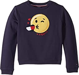 Sweatshirt with Hidden Velcro® Closures (Little Kids/Big Kids)
