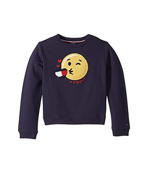 Sweatshirt with Hidden Velcro<sup>®</sup> Closures (Little Kids/Big Kids)