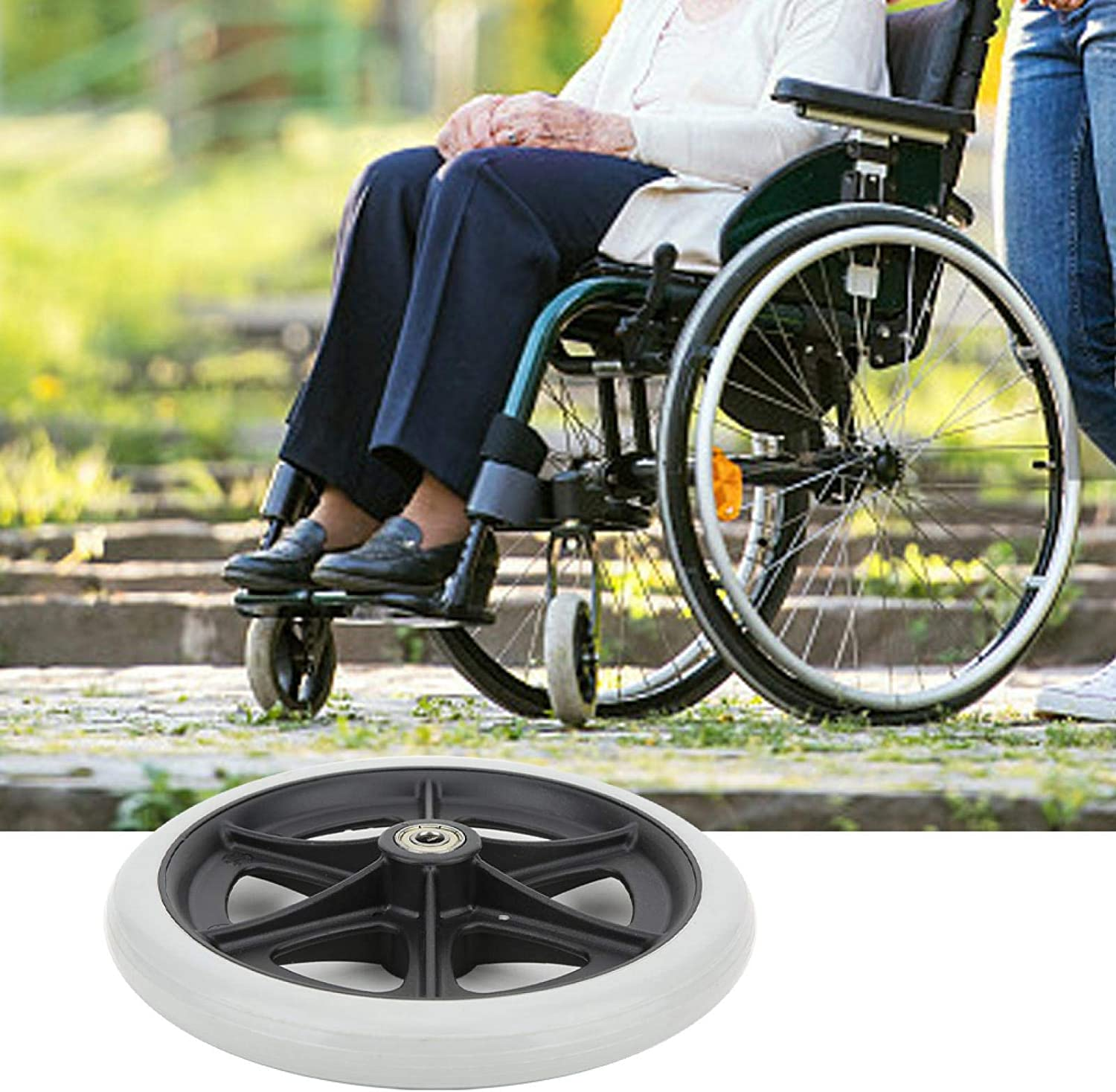 Wheelchair Front Wheels 8 Practica quality assurance Max 48% OFF Inch