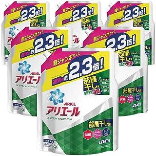 【ケース販売】 アリエール 洗濯洗剤 液体 部屋干し用 リビングドライイオンパワージェル 詰め替え 超ジャンボ 1.62kg×6個