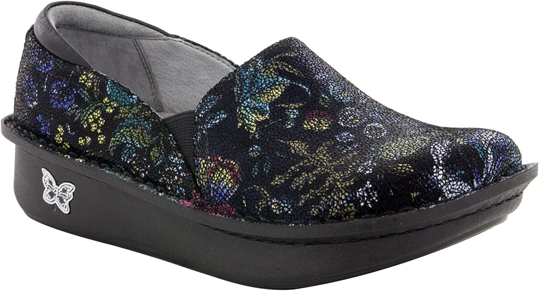 Alegria Women's, Debra Professional Slip on shoes Black Herbaceous 3.9 M