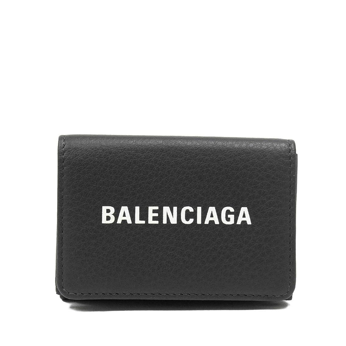 分析するバーマド医学(バレンシアガ)BALENCIAGA EVERYDAY 三つ折り財布【チャコールグレー】551921 DLQ4N 1160 [並行輸入品]