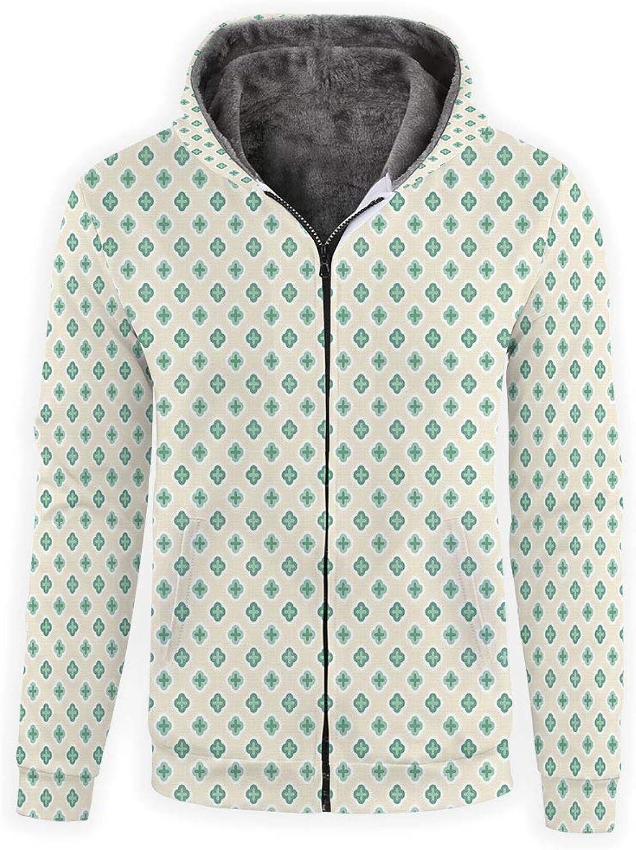 - iPrint Hoodie Zipper Unisex 3D Hoodies Hoodies Hoodies Sweatshirts -Turquoise b2c9d9