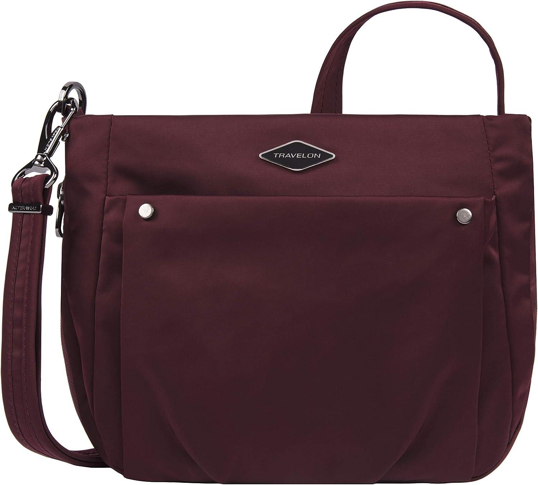 Travelon: Parkview - Anti-Theft Expansion Crossbody Bag