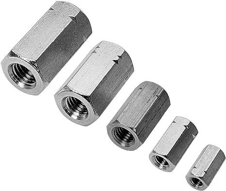 10 St/ück M5 x 50 mm Zylinderschrauben DIN 912 Edelstahl A4 VA V4A Innensechskant Zylinderkopf