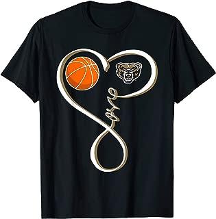 Oakland Golden Grizzlies Basketball Love Loop T-Shirt
