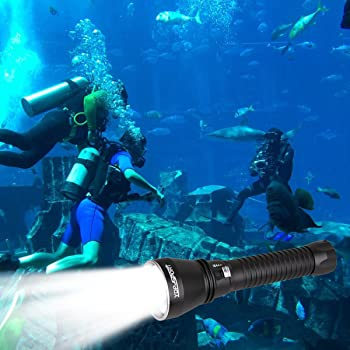 YDP-SPORT Powerful Underwater Scuba Diving Flashlight