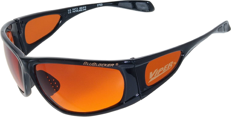 Official blueBlocker Black Viper Sunglasses