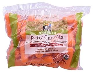 Carrot Baby Peeled Bag Organic, 16 Ounce