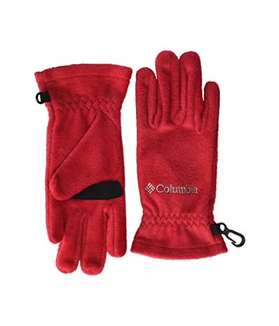 Columbia Kids Thermaratortm Glove (Big Kids) (Mountain Red) Extreme Cold Weather Gloves