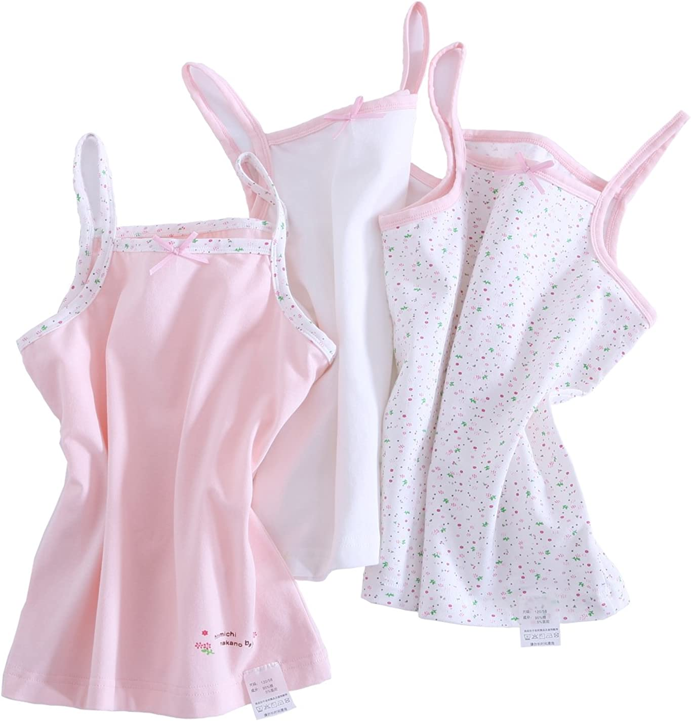 Kimocat Spaghetti Strap Camisole Charlotte Mall Tank Cot Toddler Tops for Girls Weekly update