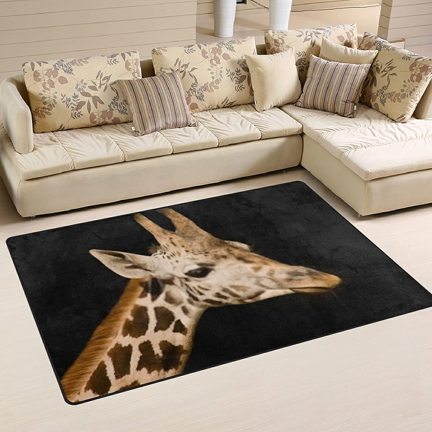 Funny Giraffe Large Soft Area Rugs Rug K Playmat for Mat Nursery Sale SALE% OFF Max 48% OFF
