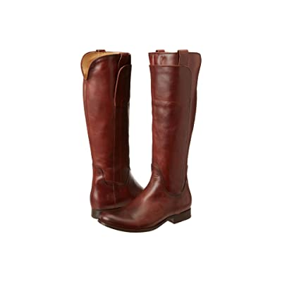 Frye Melissa Tall Riding (Redwood Soft Vintage Leather) Cowboy Boots