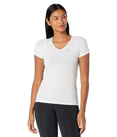 ASICS V-Neck Short Sleeve Top