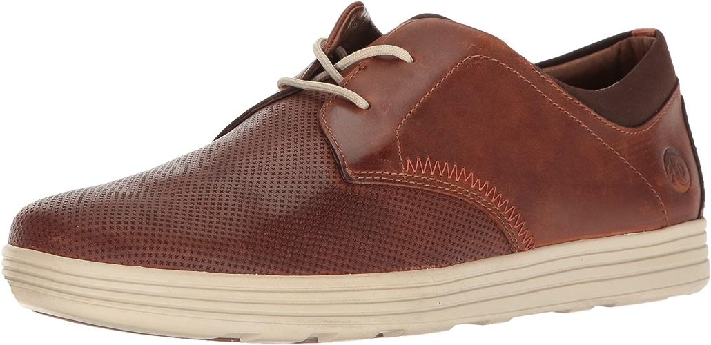 Dunham Men's Colchester Oxford Fashion baskets, marron, 12 4E US