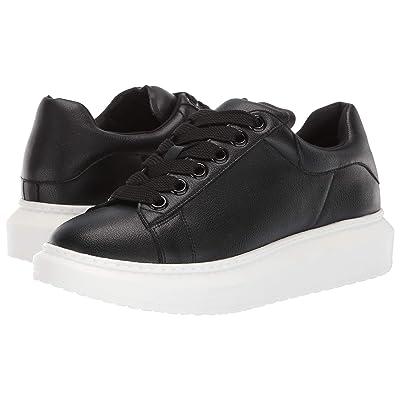Steven Glazed Sneaker (Black/Black) Women
