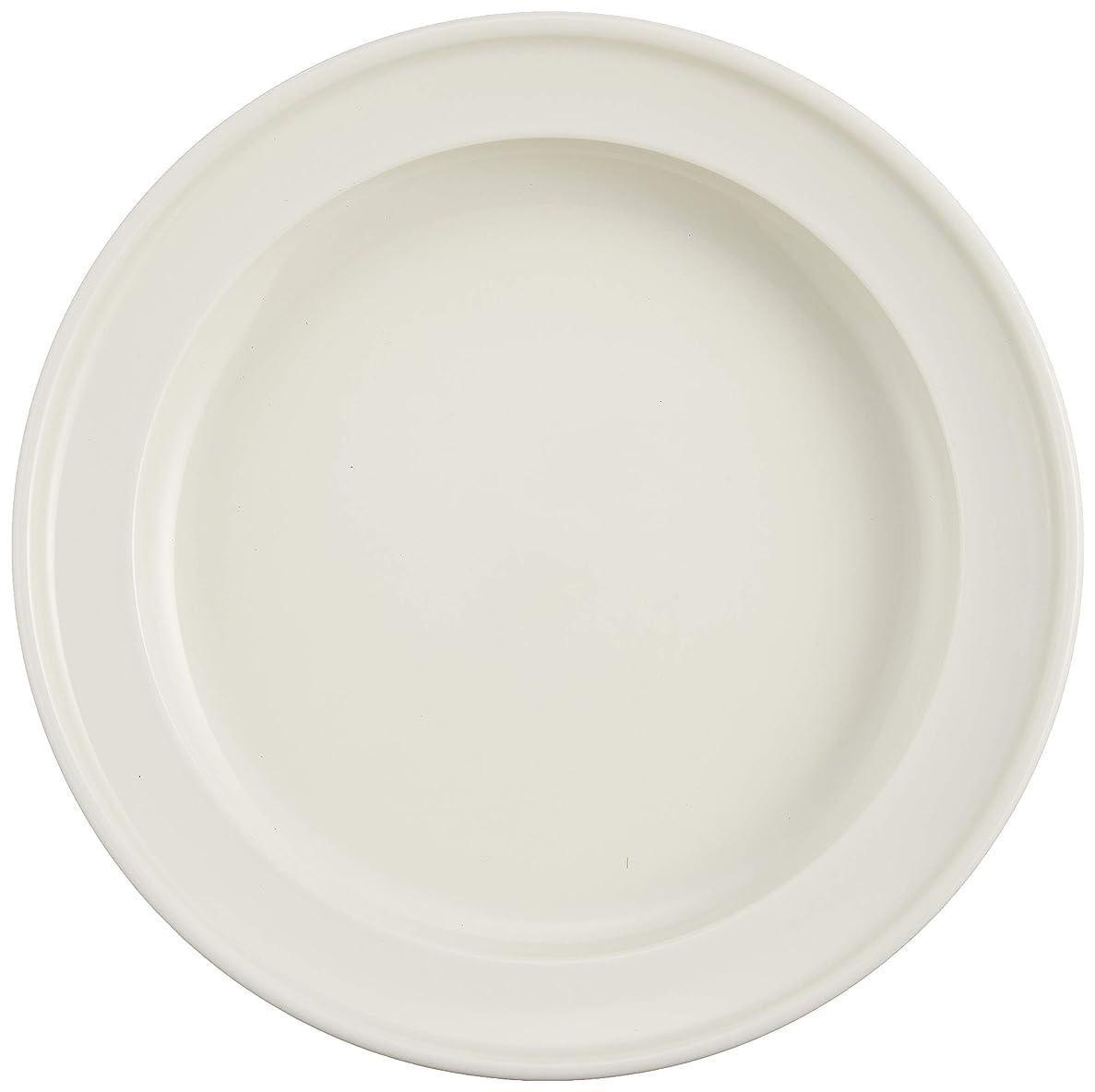誘うメタンセクションユニバーサル食器 森正洋デザイン ディープ プレート 16.5cm ホワイト NB10-322