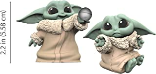 """Star Wars The Bounty Collection The Child Collectible Toys 2.2-Inch The Mandalorian """"Baby Yoda"""" Don't Leave, Ball Toy Figure 2-Pack"""