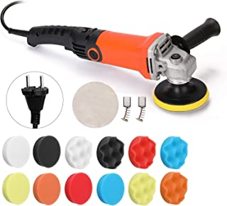 Carrfan 1200W 220Volt Car Electric Polisher,Adjustable Speed Waxing Machine,Automobile,Furniture Polishing Tool