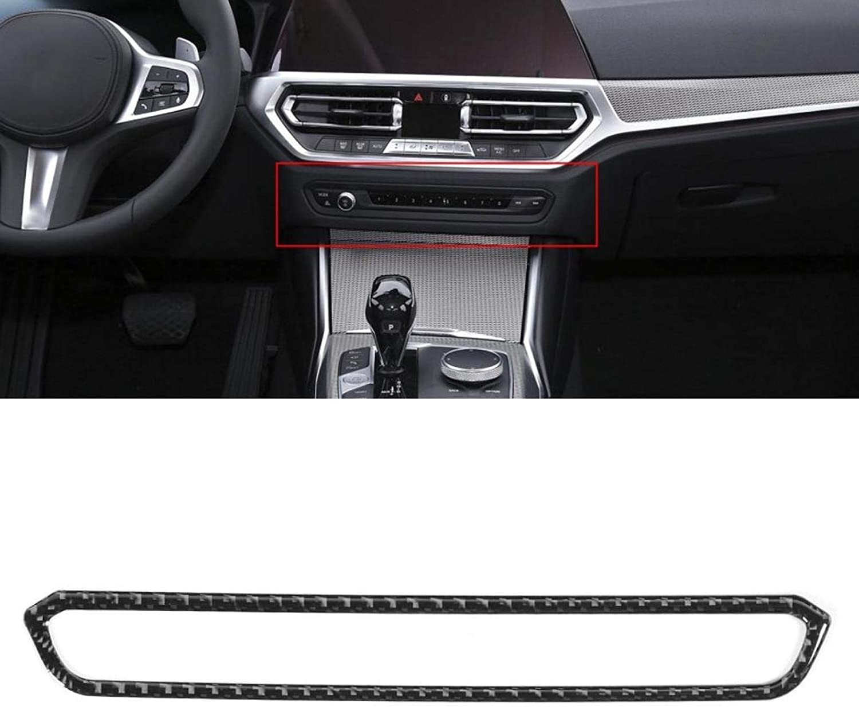 Car Interior Accessories Sale item CD Button Fiber Carbon Trim Panel High quality Real