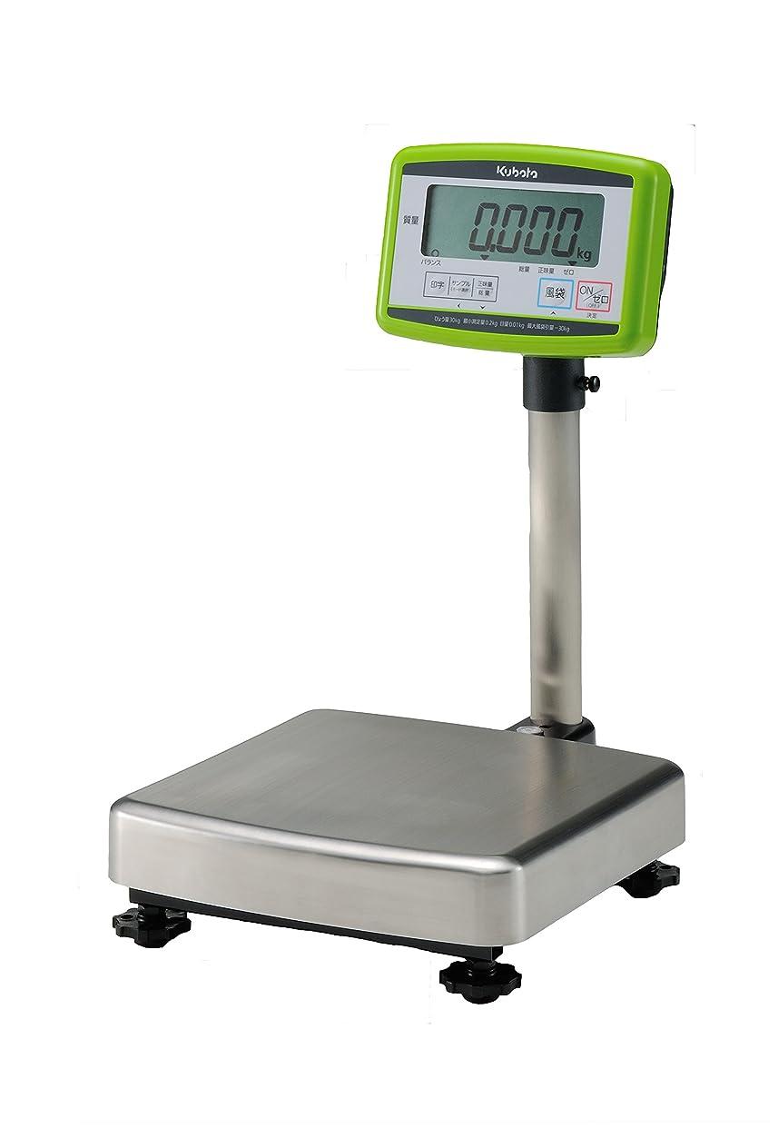 排泄する電話に出る環境保護主義者クボタ デジタル台はかり 32kg 検定付 KL-BF-K32S 注:使用できる都道府県に限りがあります