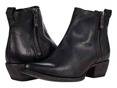 Frye Sacha Moto Shortie (Black) Women