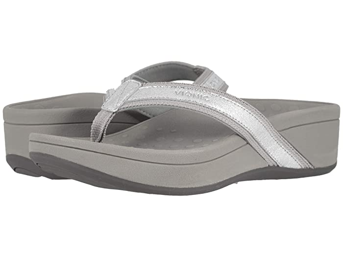VIONIC  High Tide Metallic (Silver) Womens Sandals