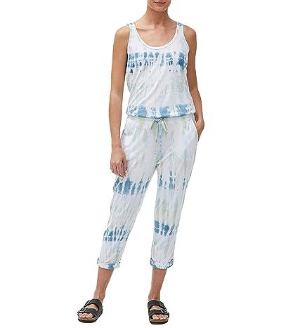 Michael Stars Theo Fiji Wash Jumpsuit (Sky Combo) Women