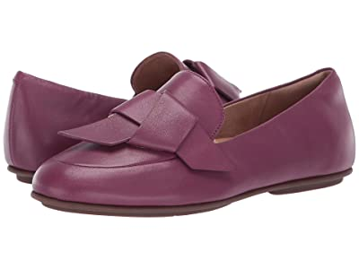 FitFlop Lena Knot Loafers (Lingonberry) Women