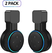 Echo Dot Wall Mount Holder for 3rd Gen, Amazon Echo Dot Alexa Outlet Holder Stand, A Space-Saving Echo Dot Accessories Wit...