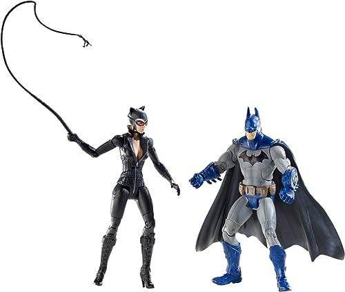 DC Bathomme Legacy Edition série 2 figurine 2Pack Bathomme Catwohomme FULL Couleur Arkham City