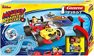 Carrera-1. First Mouse Circuito de Coches Mickey and The