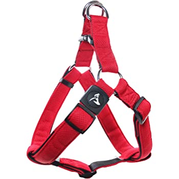 Kruz Step In Dual Layered Mesh Dog Harness - KZA201 - Heavy Duty, No Pull, Easy Walk, Quick-Fit Vest - Comfortable, Adjustable, Lightweight, Breathable - Easy Walker for Small, Medium, Large Dogs