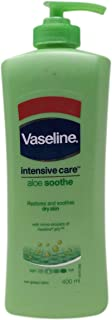 Vaseline Intensive Care Body Lotion - Aloe Soothe, 400ml Bottle