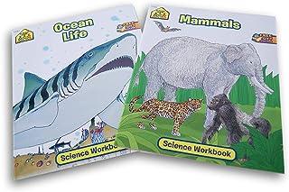 School Zone Science Workbook Bundle - Mammals & Ocean Life