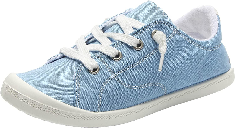 Women's Canvas Shoes Vulcanize Soft Ladies Autumn Loafers Flat S