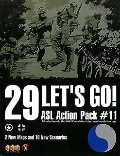 MMP: ASL Action Pack #11, 29 Let's Go! Scenario Kit for the ASL Advanced Squad Leader Game Series