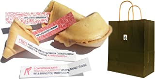 Greenfire Custom Fortune Cookies, Bulk, Traditional Vanilla, Kosher (60 count)
